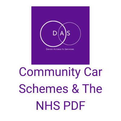 Community Car Schemes & The NHS PDF - DAS